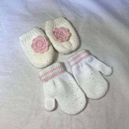 0-6 Months Baby Girl Mitts